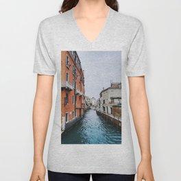 Venice - Zattere Unisex V-Neck
