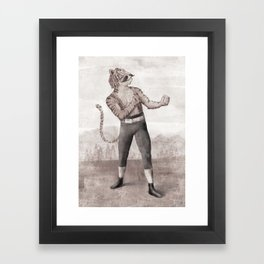 Champ Framed Art Print