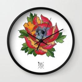 Beauty in decay Wall Clock
