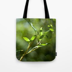 Bamboo Shadows Tote Bag
