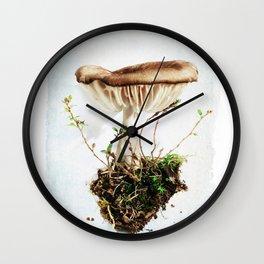 Wild Mushroom #1 Wall Clock