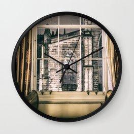 Night view on St giles cathedral Edinburgh Scotland Wall Clock