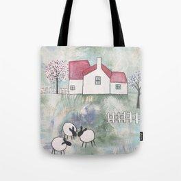 Farmhouse - Three Sheep Tote Bag