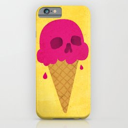 Skull Scoop. iPhone Case
