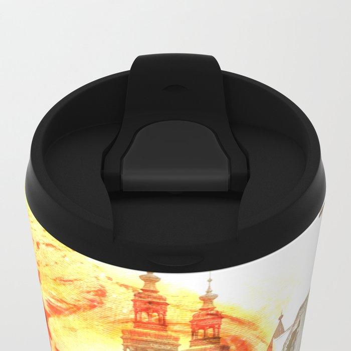 City girl Metal Travel Mug