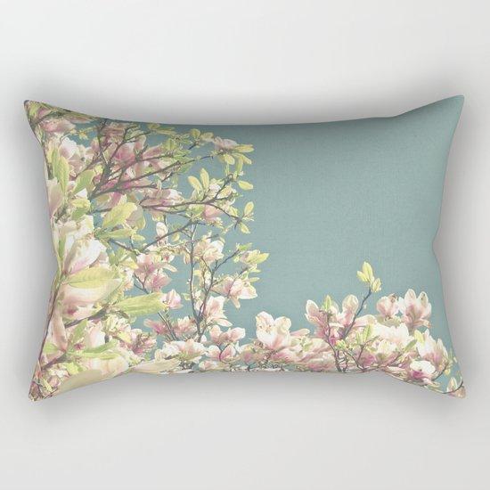 Magnolia in Bloom Rectangular Pillow