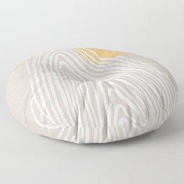 Echo mountain Floor Pillow