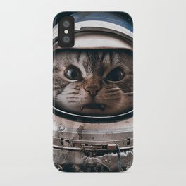 Space catet iPhone Case