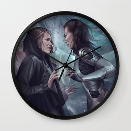 Stranded Planets Wall Clock
