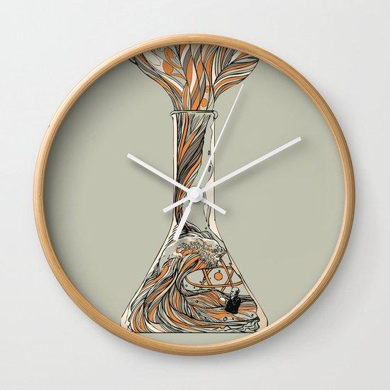 Science & Wonder Wall Clock