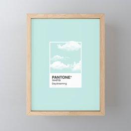 Pantone Series – Daydreaming Framed Mini Art Print