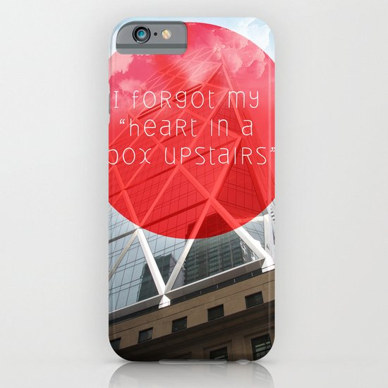 heart in a box upstairs iPhone & iPod Case