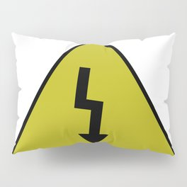 electric current danger signal Pillow Sham