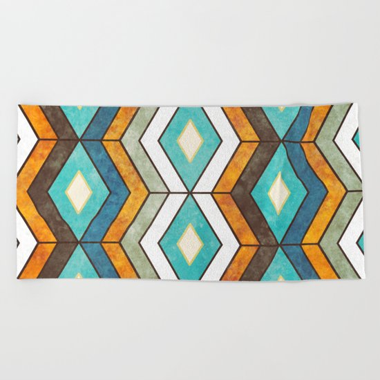 Accent Design 7 Beach Towel