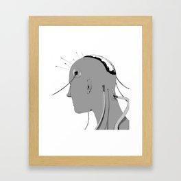 Cybernetic Coma Framed Art Print