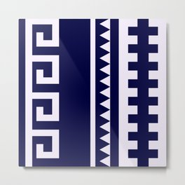 Indian Designs 155 Metal Print