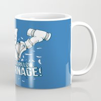 carnage Mugs featuring All Carnage! by Locust Years