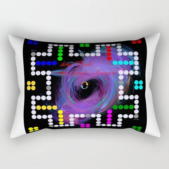 don't panic grande game Rectangular Pillow