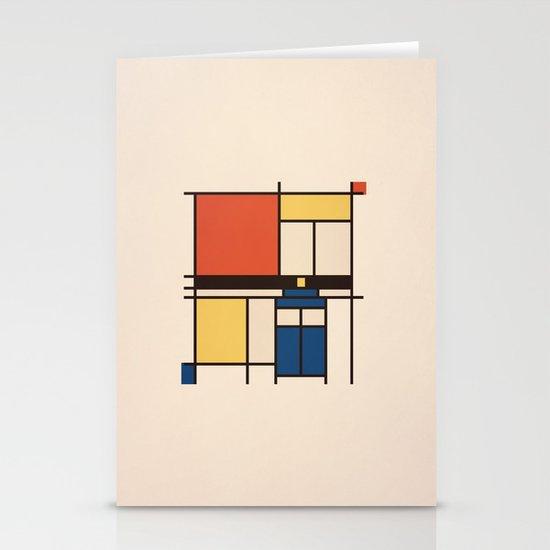 Mondrian Who Stationery Cards