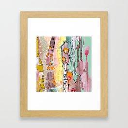 fille de joie Framed Art Print