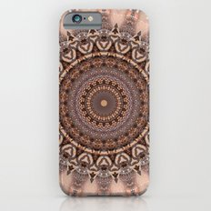 Mandala romantic pink iPhone 6s Slim Case