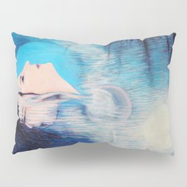 Blue Girl Pillow Sham