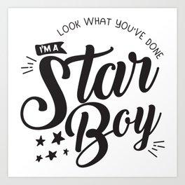 I am a Starboy Art Print