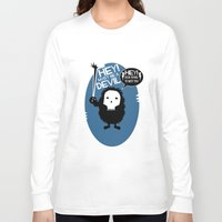pixies Long Sleeve T-shirts featuring Hey! by Ryan W. Bradley
