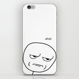 What Meme iPhone Skin