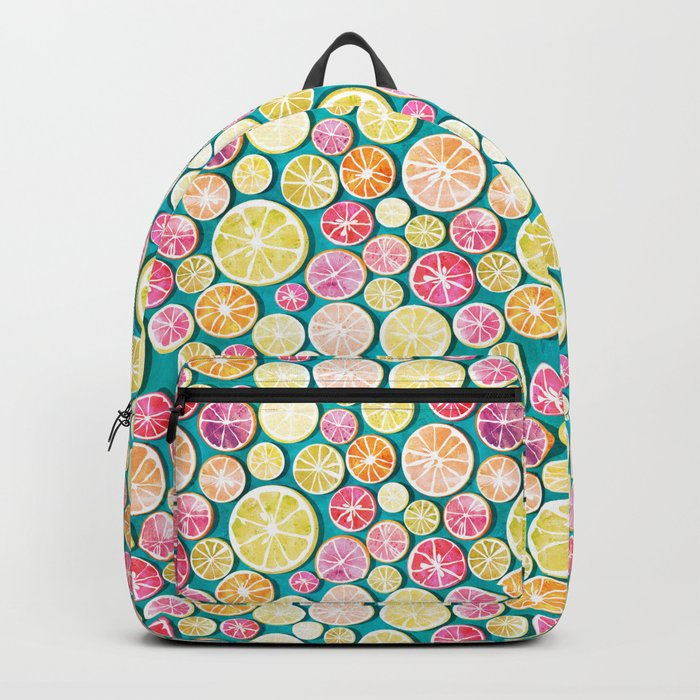Citrus bath Backpack