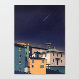 Castles at Night Canvas Print