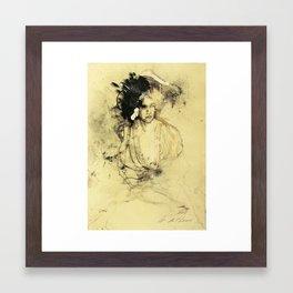 Hommage à Rubens I Framed Art Print