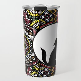 Colorful Howl Travel Mug