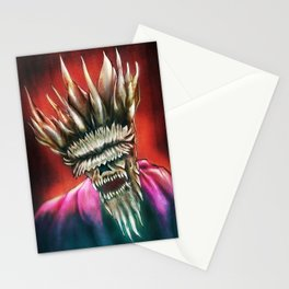 Zombie King Stationery Cards