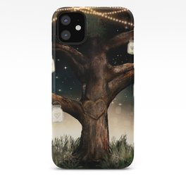 Rustic Mason Jar Tree iPhone Case
