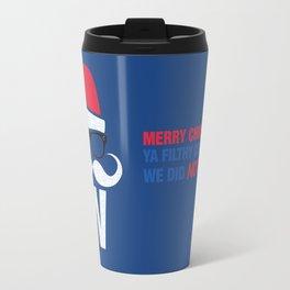 Fly the W Santa Travel Mug