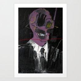 Salesman 2. 2015. Art Print