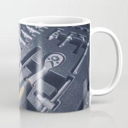 Industrial Socket Set inside Toolbox, Ratchet Socket Kit Coffee Mug