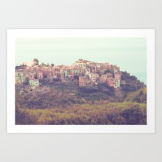 Pretty Pastels Art Print
