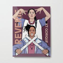 Reverie and KT Gorique Metal Print