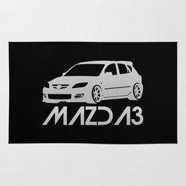 Mazda 3 - silver - Rug
