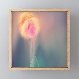 Spring in motion Framed Mini Art Print