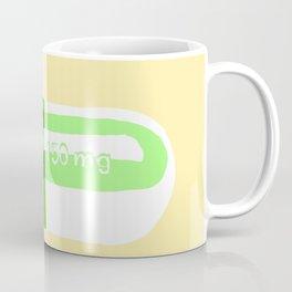 Crazy Pill Yellow Coffee Mug