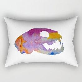 Cat Skull Art Rectangular Pillow
