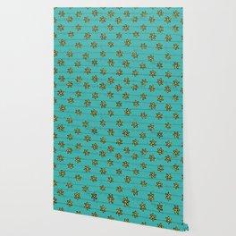 zuhur turquoise Wallpaper