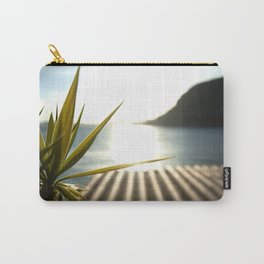 Sunset at Plage Mala Carry-All Pouch
