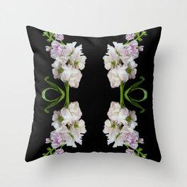 Botanical Kaleidoscope 4 Throw Pillow