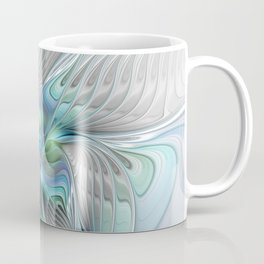 Abstract Butterfly, Fantasy Fractal Art Coffee Mug
