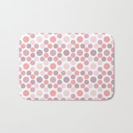 Blushing Dots Bath Mat