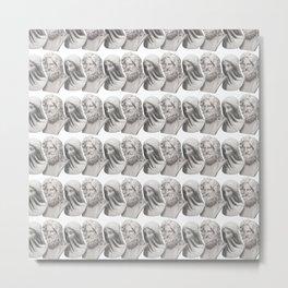 Queued Metal Print